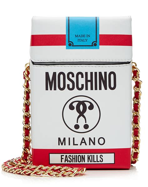 Fashion Bag Cig 10245 moschino s fall 2016 collection theme it s lit stylecaster