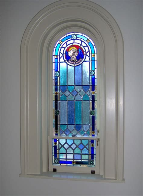 fabrication of stained glass window frames