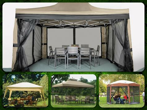 Patio Tent Cover by Gazebo Patio Pergola Gazebos Canopy Outdoor Furniture
