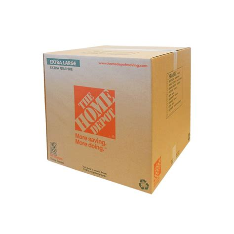 home depot small moving box the home depot large box 22 inch x 22 inch x 21 5