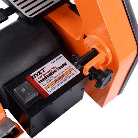 bench belt sander for metal 1 quot x30 quot belt 5 disc sander bench top woodworking sanding