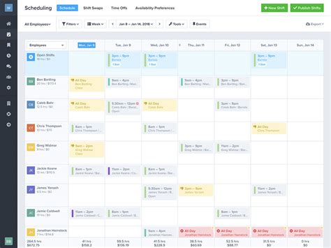 free work schedule maker template free work schedule maker zoomshift