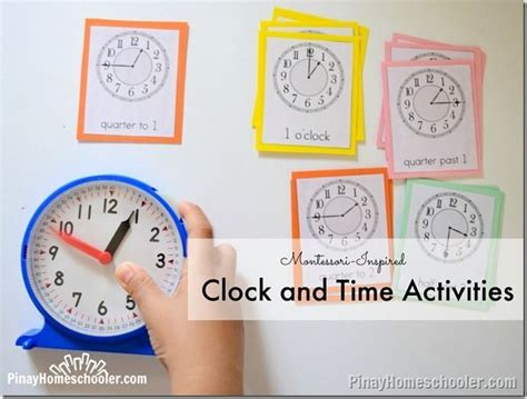 montessori clock printable 4247 best images about kids math on pinterest fact