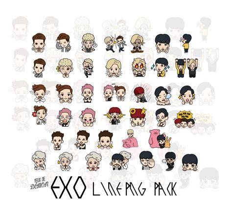 wallpaper line exo exo line png pack by littlemirr on deviantart