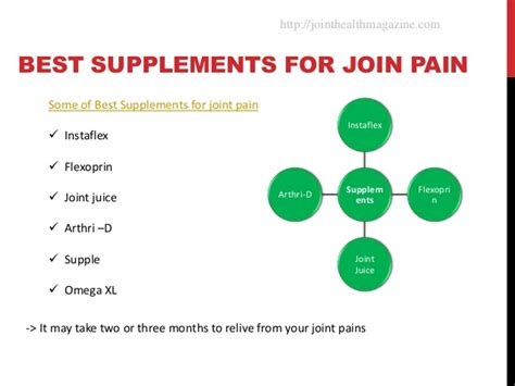 supplement for joints best supplements for joint