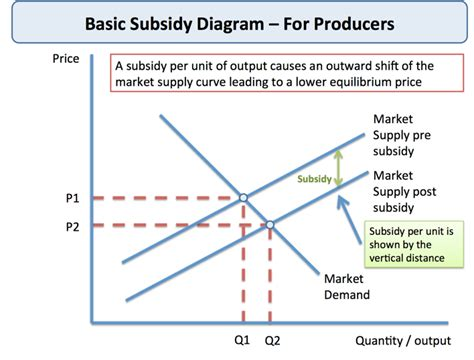 analysing and evaluating producer subsidies tutor2u