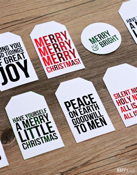 free printable quote tags christmas gift tag quotes quotesgram