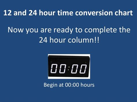 m a 24 hour 12 24 hour time conversion chart