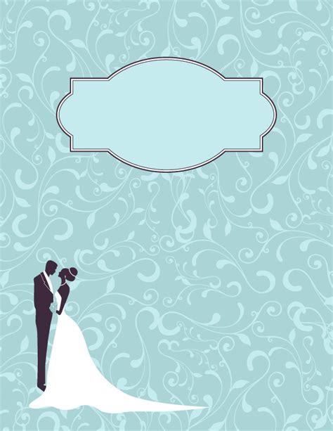 Free Printable Wedding Binder Cover Template Download The Cover In Jpg Or Pdf Format At Http Free Printable Wedding Binder Templates