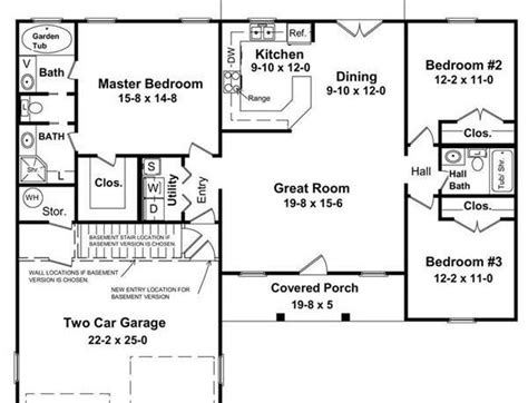 Tips To Plan Simple House Design With Floor Plan Under House Plans Below 1500 Square