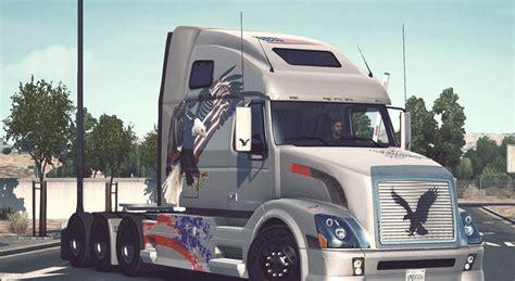 volvo trucks usa volvo vnl 670 usa eagle mod euro truck simulator 2 mods
