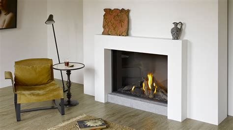 Glass Enclosed Fireplace | mod 100h hole in the wall fireplace modus fireplaces