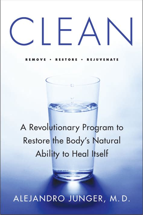 Clean Detox Diet Book by Alchemical 187 An Alchemical Dr Alejandro Junger