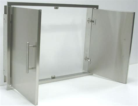 outdoor kitchen stainless steel cabinet doors the