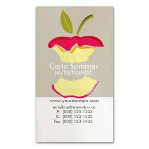 nutritionist business cards dietician nutritionist weight loss health