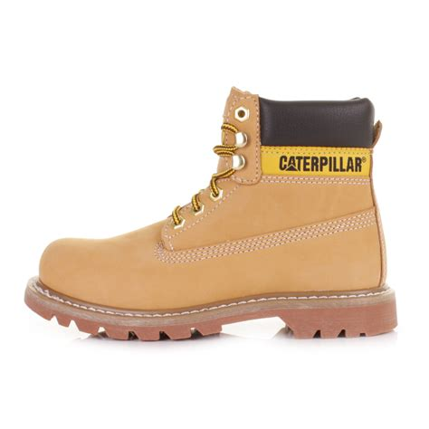 womens cat colorado honey reset nubuck leather