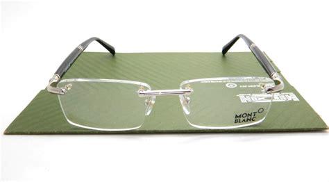Kacamata Frame Montblanc Mb840 Silver montblanc mb840 silver