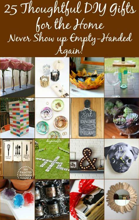 diy thoughtful gifts 25 thoughtful diy gifts for the home never show up empty handed again diy crafts