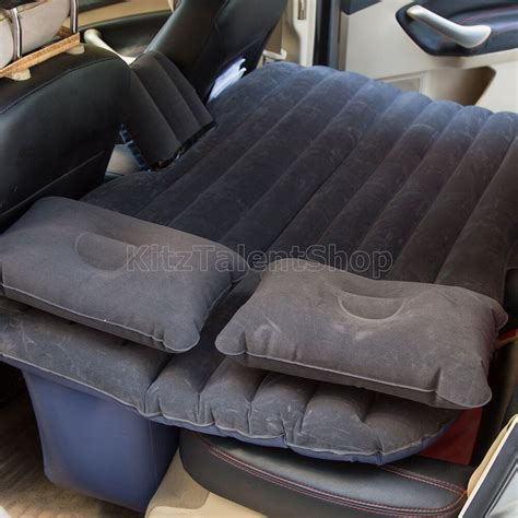 travel mattress hq air bed car back seat w 2 pillow cing ebay