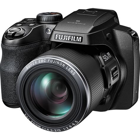 digital finepix fujifilm finepix s9800 digital black 16452279 b h
