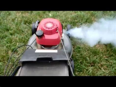 honda harmony ii hrt  sda carburetor cleaning lawn mower repair part ii march