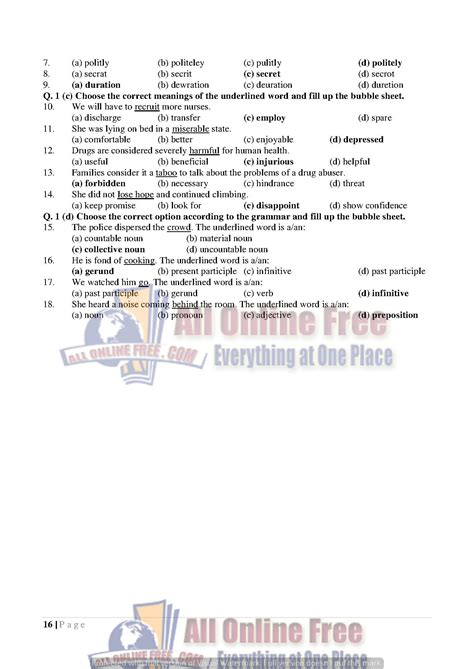 Letter For 9th Class guess notes 9th class objective paragraphs and