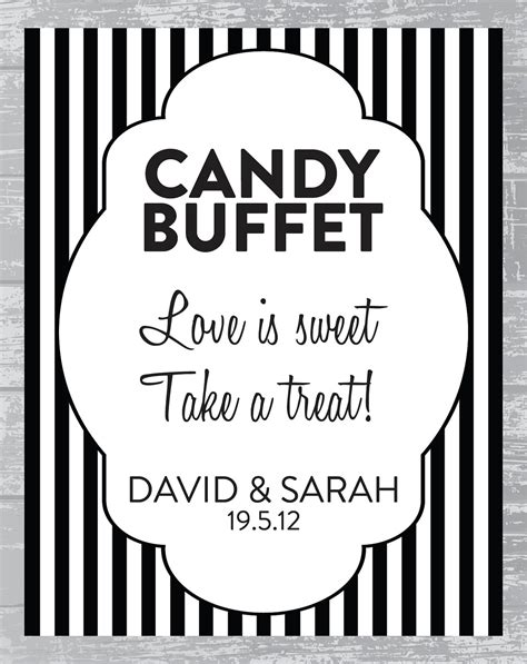 Candy Bar Signs Templates Bar Signs Templates