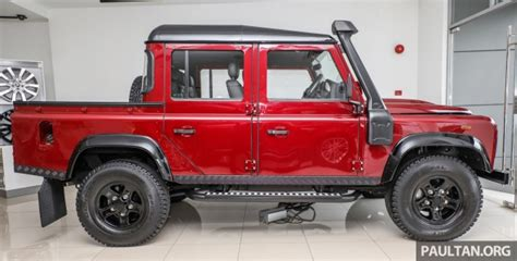 red land rover defender land rover defender final commemorative edition of 12