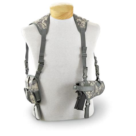 tactical holster fox outdoor advanced tactical shoulder holster 144584 holsters at sportsman s guide