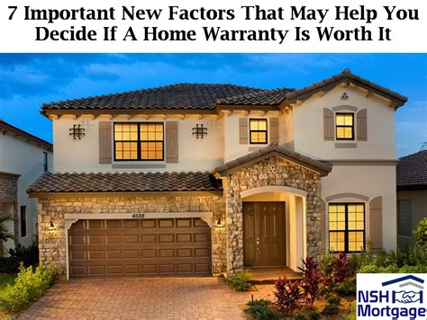 7 factors to decide if a home warranty is worth it