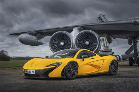mclaren p1 2014 mclaren p1 yellow front three quarters photo 9