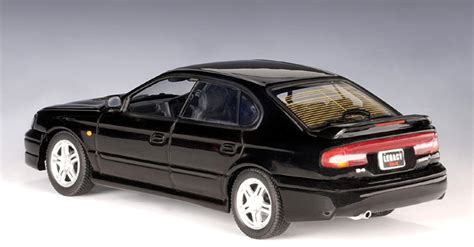 subaru autoart autoart 1999 subaru legacy b4 black 58613 in 1 43