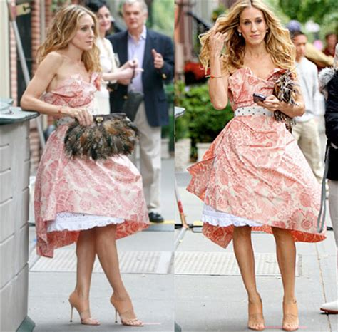Carrie Bradshaw The Salvatore Ferragamo Ostrich Feather Bag carrie bradshaw smartfashioned