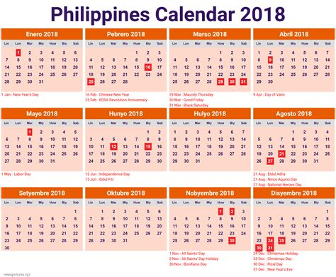 printable calendar 2017 philippines with holidays calendar 2018 philippines with holidays newspictures xyz