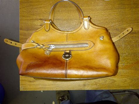 Gorgeous Anthropologie Time After Time Satchel Bag by Mulberry Handbag Cleaning Repair Leather Bag Repair