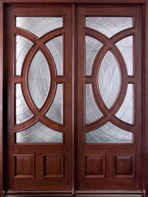 mahogany front entry door entry door in stock solid wood with mahogany finish contemporary series model