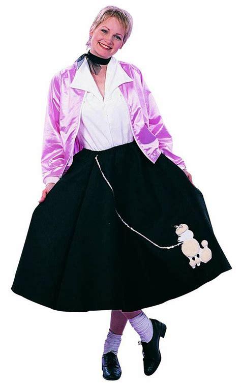 diy sock hop skirt poodle skirt 50 s pink costume plus size poodle skirt pink costume