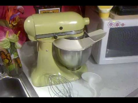 Jolene got a KitchenAid Mixer! A Vintage Hobart one!   YouTube