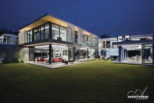 Modern Mansions by Modern Mansion With Perfect Interiors By Saota