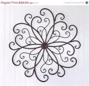 Large Wrought Iron Wall Decor by Sale Large Wrought Iron Wall Decor By Theshabbyshak