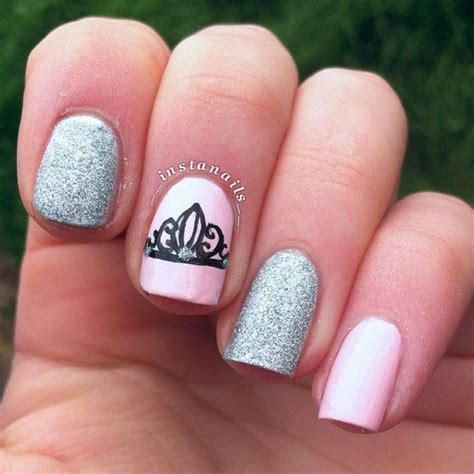 cute nail designs with a crown top 25 best crown nail art ideas on pinterest crown
