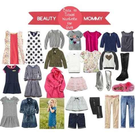 Back To School Wardrobe by The Complete Back To School Wardrobe For Beautymommy