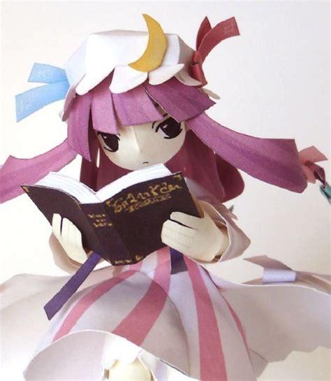 Touhou Papercraft - touhou project papercraft maquette en papier personnage