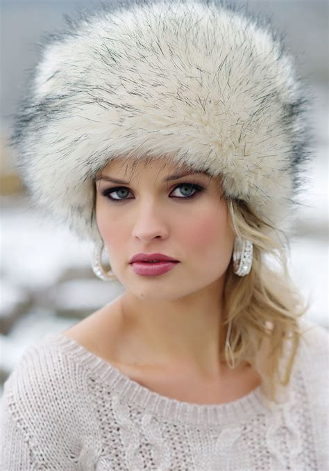 Russian Fur by Brave The Cold In Serious Style With A Russian Cossack Fur
