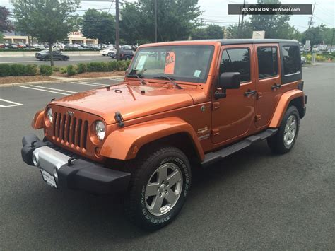 2011 Jeep Wrangler 4 Door by 2011 Jeep Wrangler Unlimited Suv 4 Door 3 8l 30k Mil