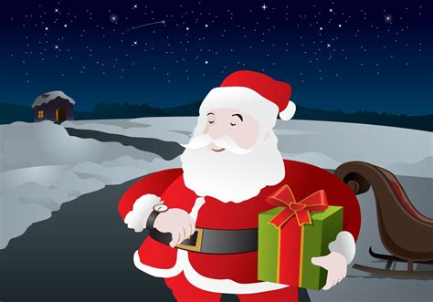 santa claus vector   vector art stock graphics images