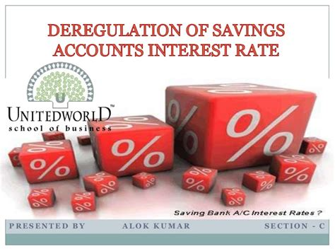 Mba Savings Account by Deregulation Of Savings Accounts Interest Rate