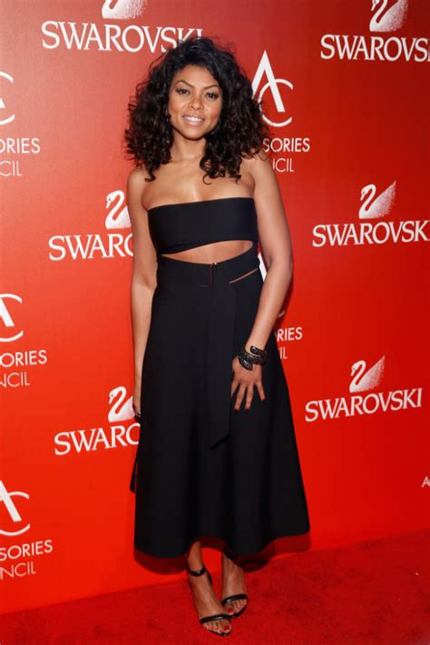 taraji p henson black dress cut out hot or hmm taraji p henson s 18th annual accessories