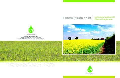 agriculture brochure templates 2 best agenda templates