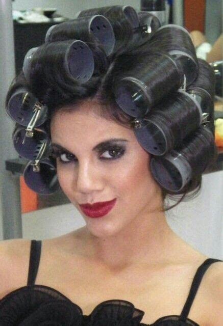 wife setting husband hair in curlers 116 best images about hair curlers on pinterest sexy